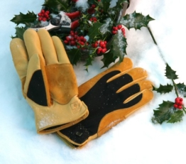 Gold Leaf Winter Touch Gartenhandschuhe -